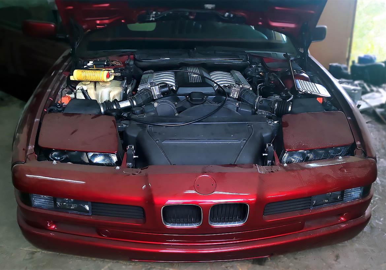Документация по двигателю BMW M70B50, система управления DME 1.7